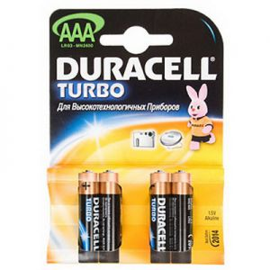 Батарейка DURACELL MN2400/LR03 BP2 TURBO