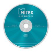 CD-RW 700Mb Mirex 4-12X Cake box, 1 шт.
