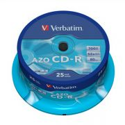CD-R 700Mb Verbatim 52X CakeBox 25шт
