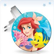Ночник WoltaKids Disney 07R-LM 0.2W 3LED Ариэль и Флаундер